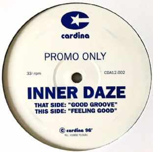 "Inner Daze ‎- Good Groove/Feeling Good (12"") (Promo) (VG/NM)"